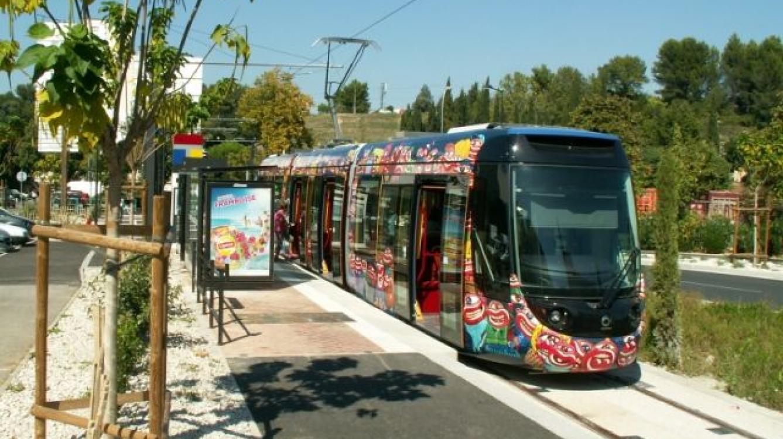 Tramway d'Aubagne Le Charrel
