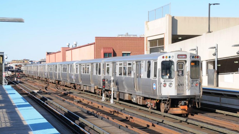 élement 5284 se dirigeant vers Howard (ligne rouge) - station Wellington