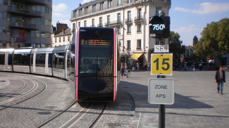 Tramway de Tours le 30 août 2013