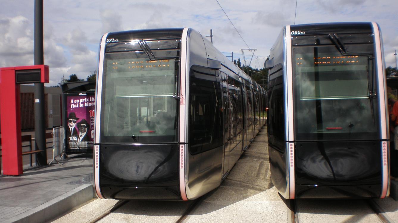 Tramway de Tours le 31 août 2013